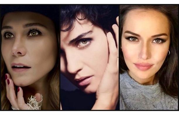 Güzel Gözlü Kadınlar