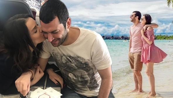 İmane Elbani'den Murat Yıldırım'a büyük sürpriz! Doğum günü için bakın ne yaptı?