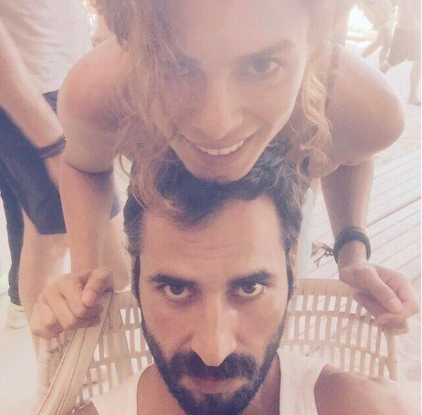 Özge Özpirinçci ile Burak Yamantürk'ün aşk tatili!