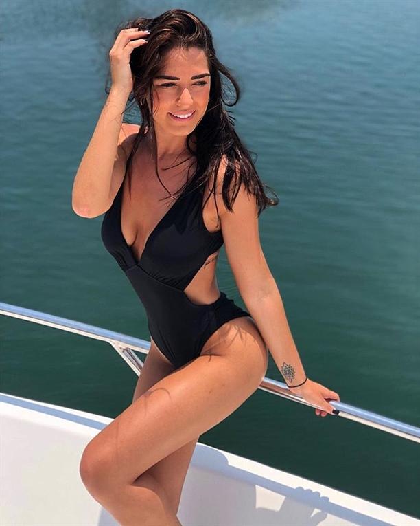 Beşiktaş'ın yeni yengesi süper model Leticia, sosyal medyayı sallıyor!