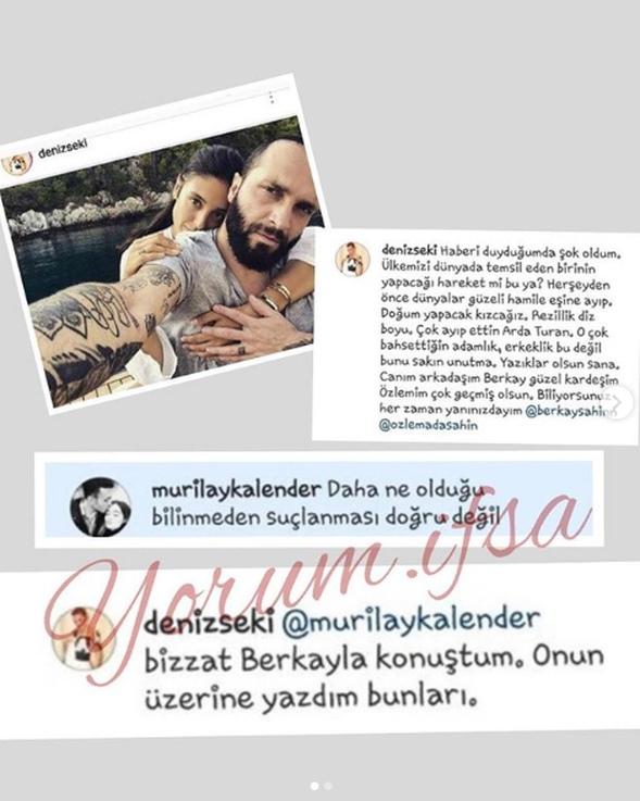 Ünlü isimlerden Berkay'a destek!